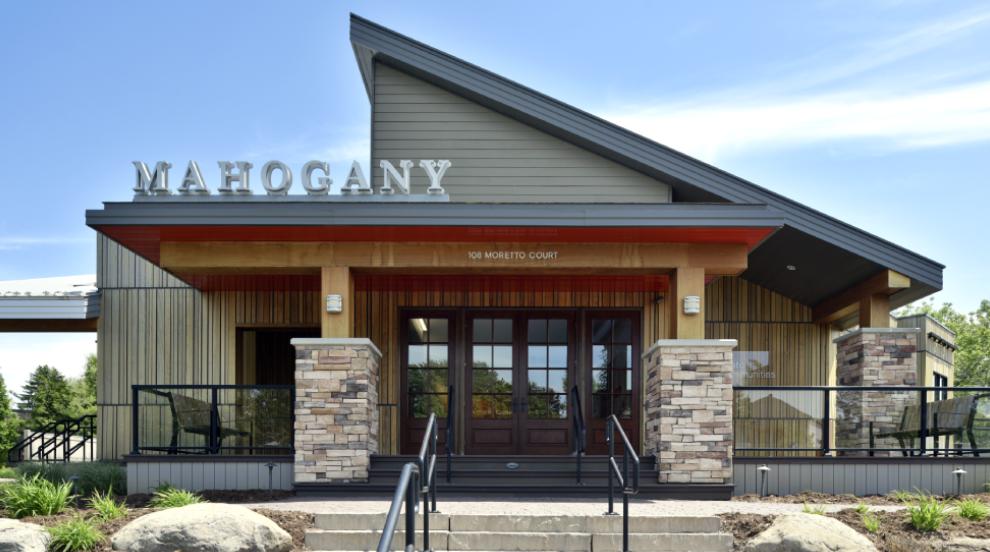 Mahogany, Manotick Sales Centre