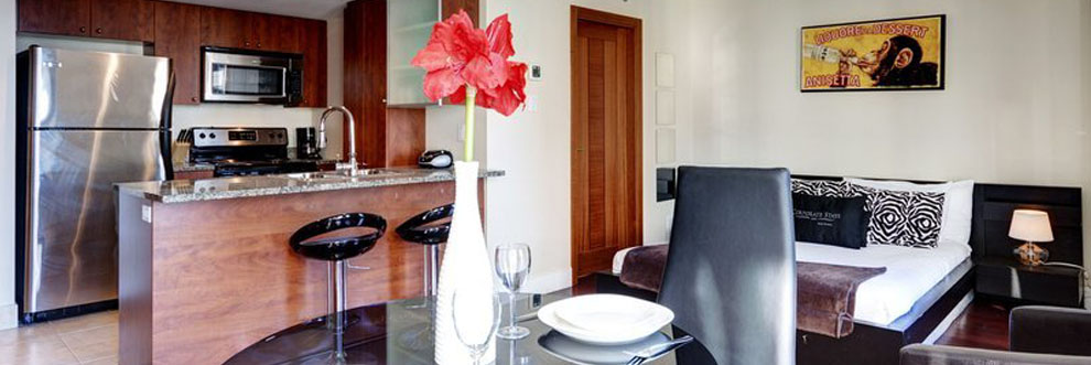 Renovated Furnished Suites in Montreal