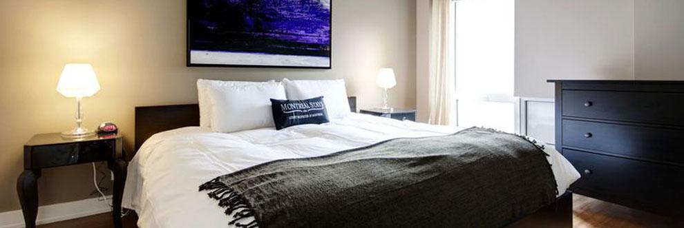 Bedroom- Montreal Furnished