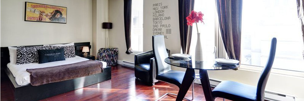 Large Furnished Suites in Montreal