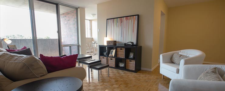 Rental Apartment Marlborough Court in Oakville