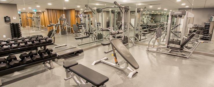 Toronto Yorkville new condo gym