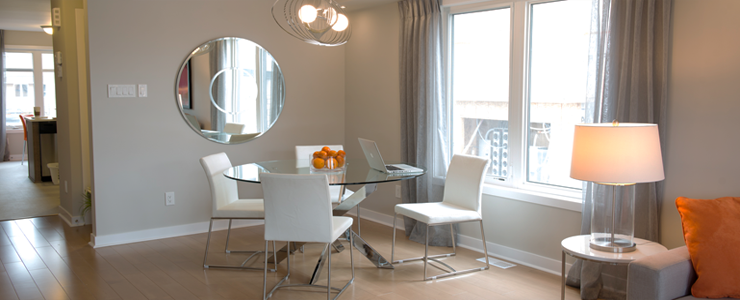 Applewood Townhomes Dining Room