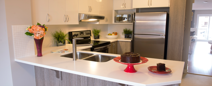 Applewood Townhomes Kitchen