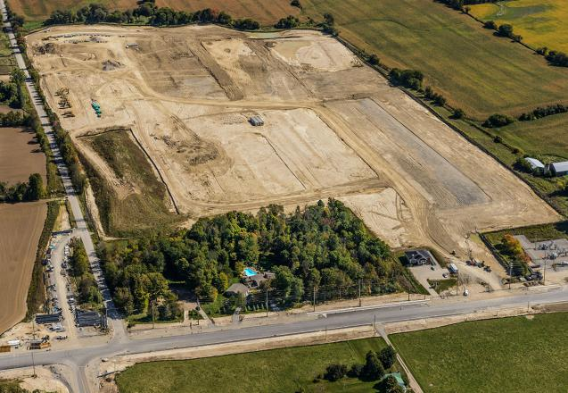 Site at 2nd Concession and Doane Rd.