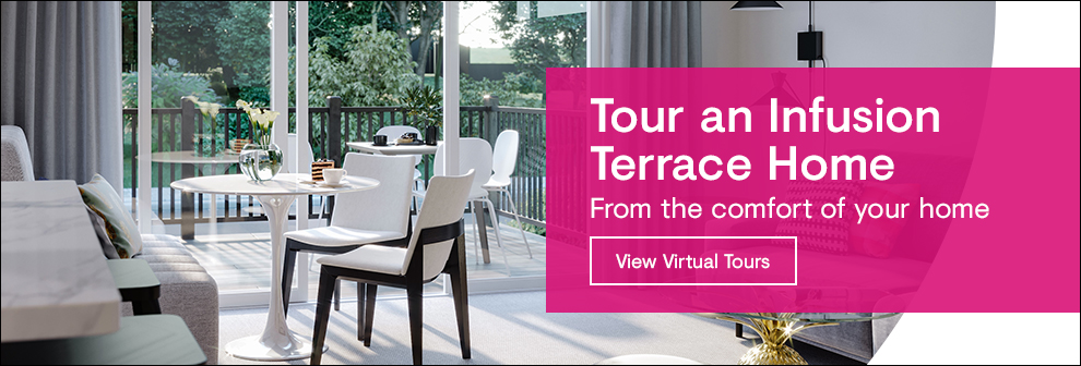 View Virtual Tour of Infusion Terrace Homes