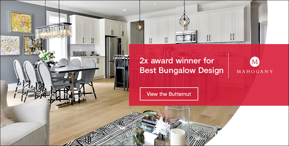 2x award winner for best bungalow design