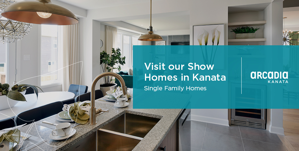 Visit our show homes in Kanata