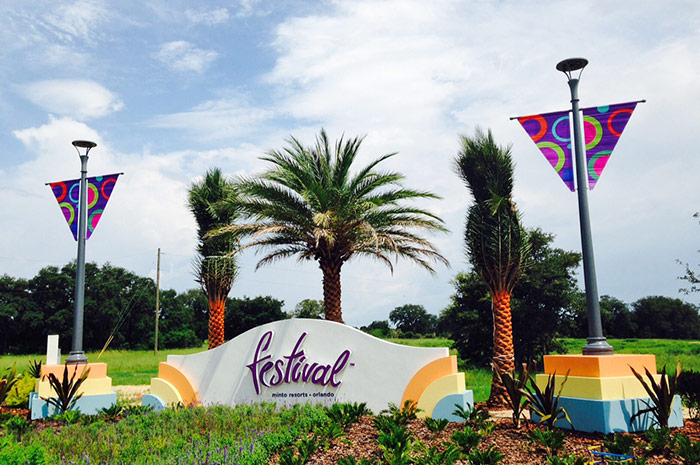 Orlando area resort community with 3, 4, and 5 bedroom homes