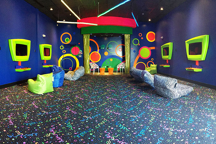 Kids game and activity center