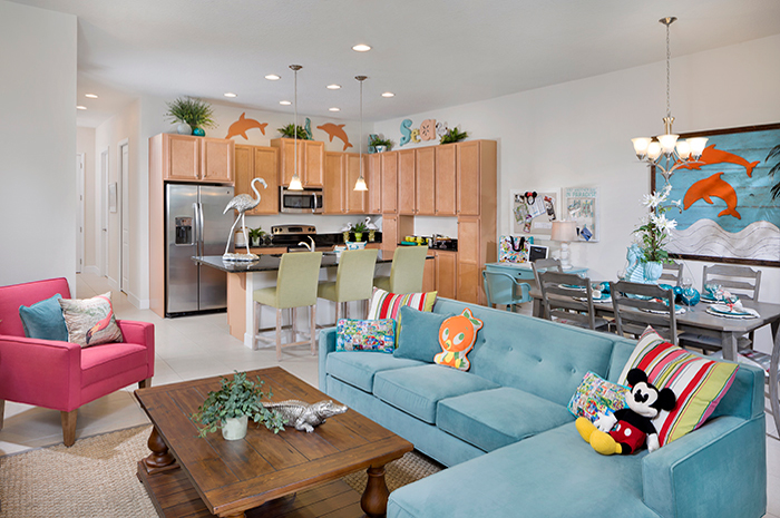 Spacious open floorplan living (Imagine Model Shown)