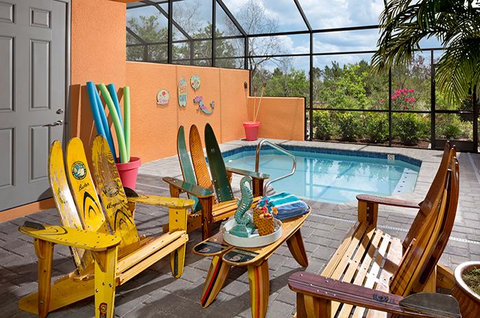 Fun, easy-maintenance plunge pool (Imagine Model Shown)