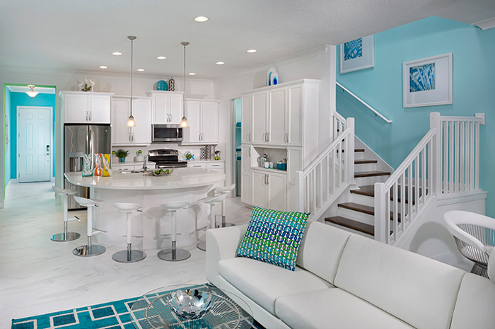 Grand spaces, perfect for entertaining (Marvel Model Shown)