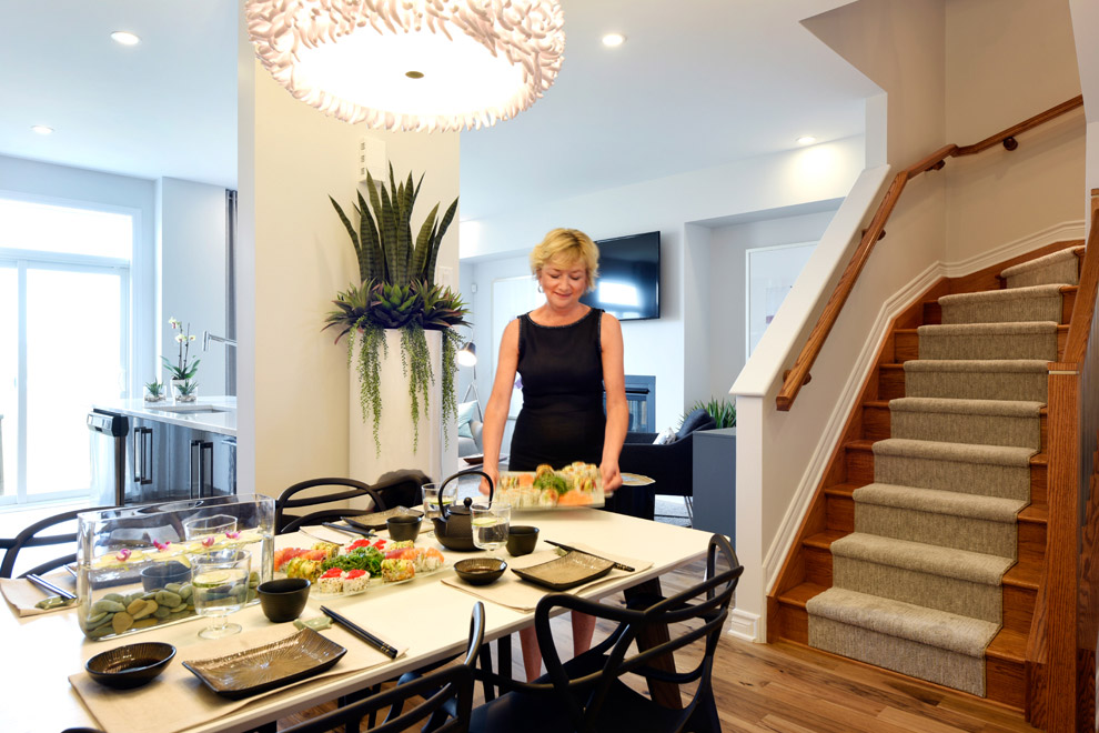 Haven, Executive Townhome - Dining Room
