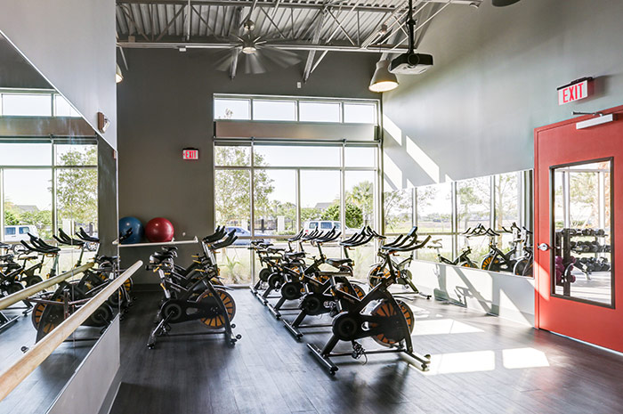 Spin class is right around the corner from your home
