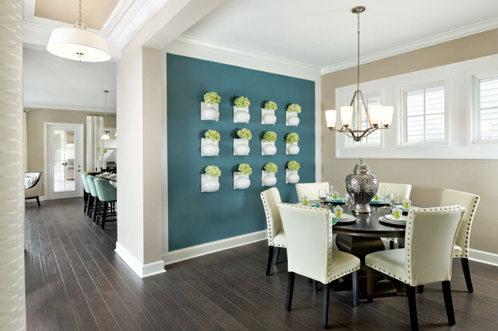 Dining room with hardwood floors throughout (Cormack Grande Shown)