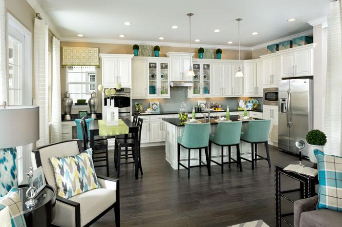 Spacious open floorplan living (Cormack Grande Model Shown)