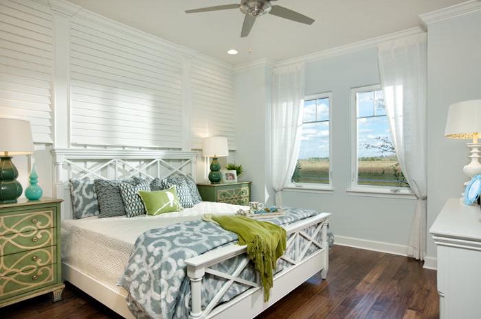 Master bedroom getaway in 3 bedroom courtyard home (Kendall Shown)