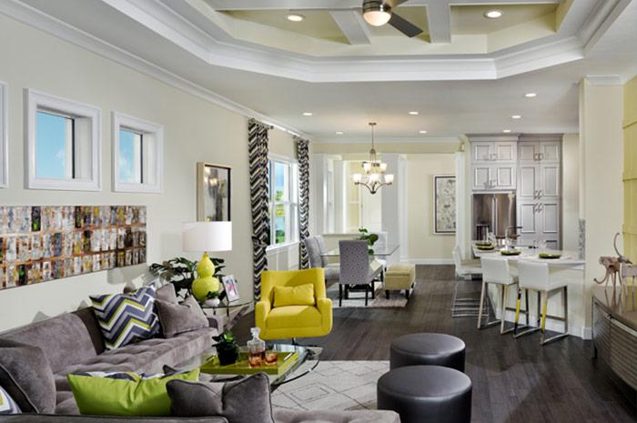 2 bedroom home with open floorplan (Mimosa Shown)