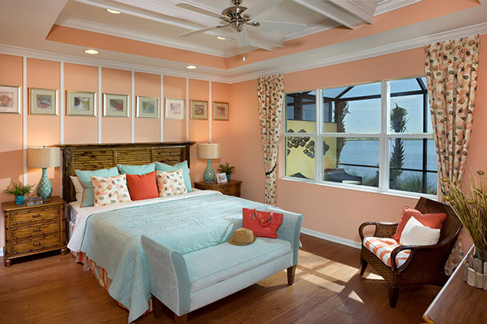 Master bedroom retreat with lake views (Magnolia Shown)
