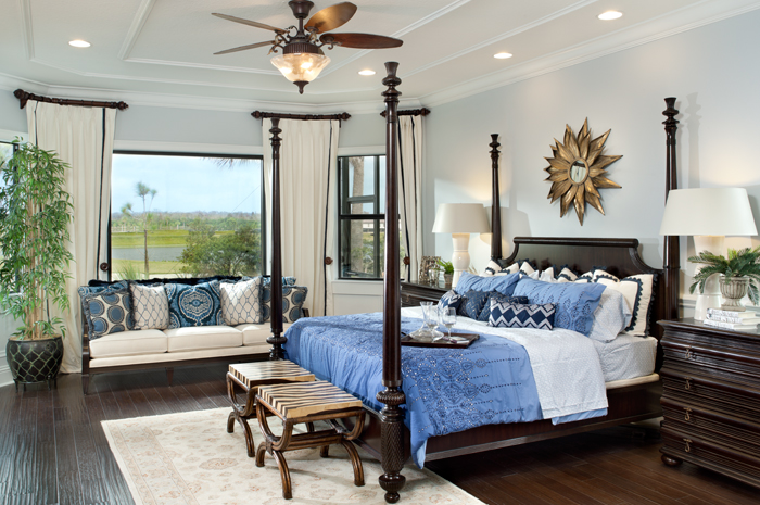 Quiet master bedroom retreat overlooking the picturesque greens and fairways (Turnberry Grand Shown)