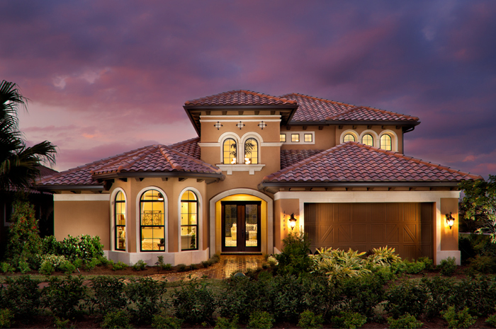 Master crafted homes with a country club lifestyle (Turnberry Grand Shown)
