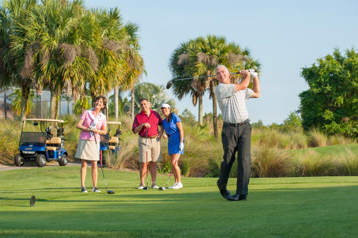 4 golf courses that are professionally managed and owned