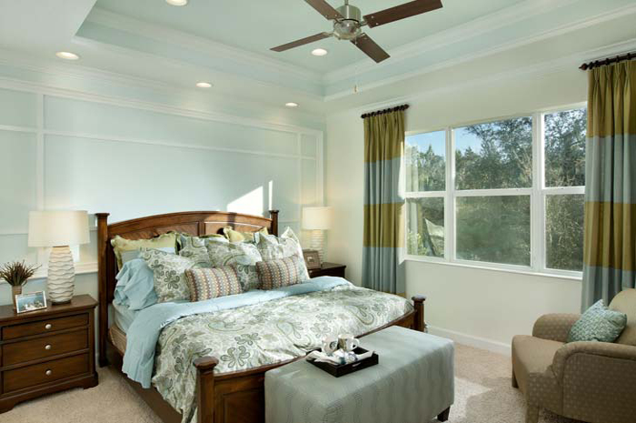 Quiet master bedroom (Banyan Shown)