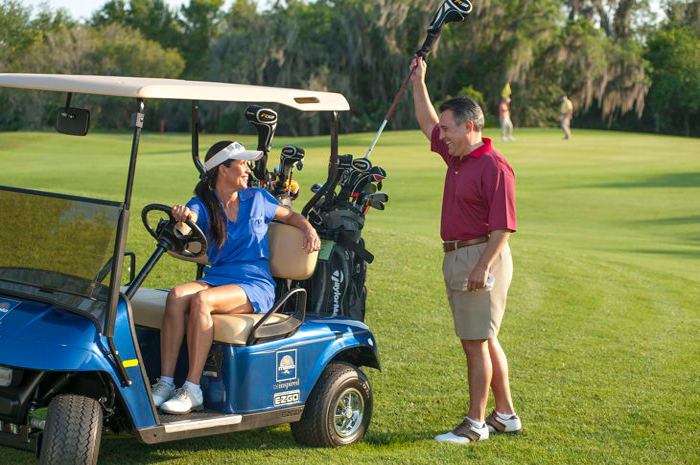 Courses are well-designed to be equally challenging to golfers of all skill levels
