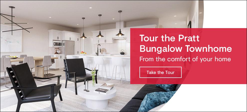 Tour Mahogany's Pratt Bungalow Townhome