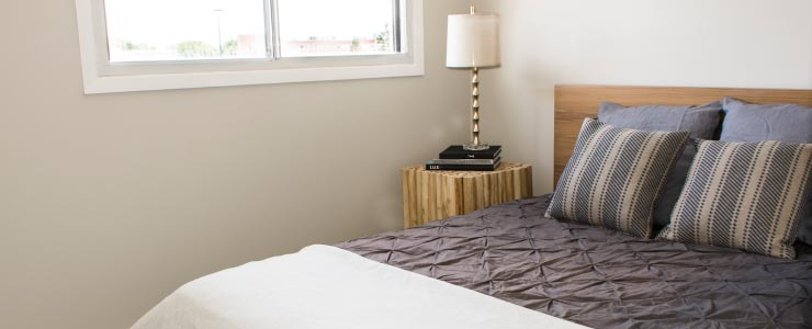 Navaho Townhomes and Garden Homes Bedroom