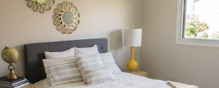Navaho Townhomes and Garden Homes Bedroom view