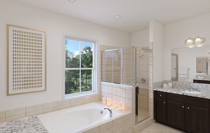 Cambria Master Bathroom