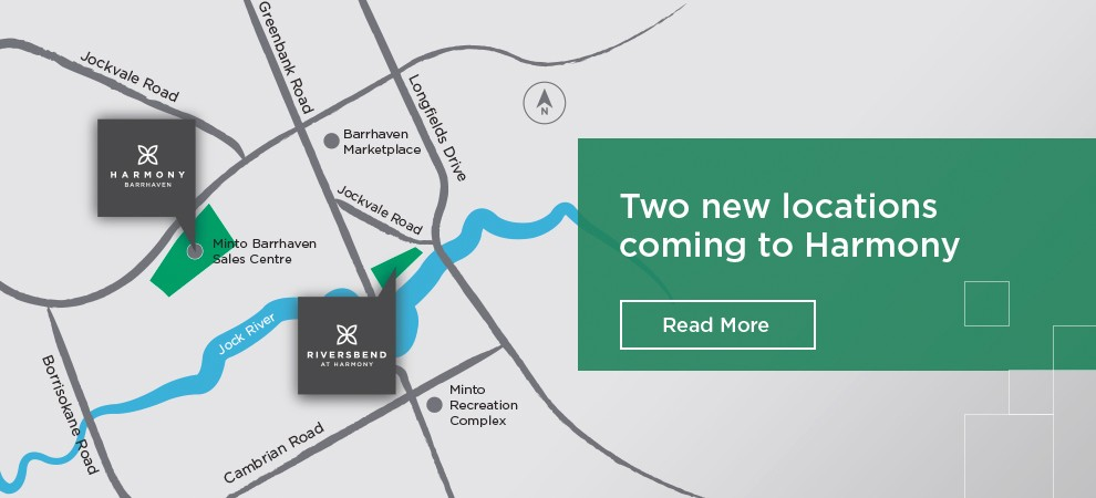 New locations coming to Harmony in Barrhaven.