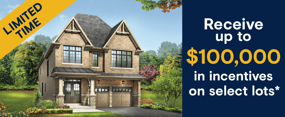 new homes in Whitby - incentives