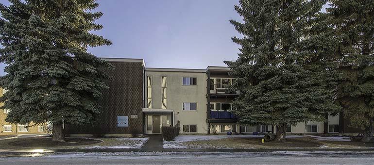 Exterior shot of Mercury Apartment