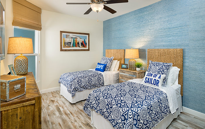 Extra bedroom perfect for friends or family (Mariner shown)