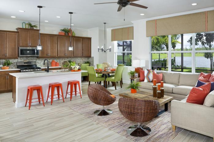 Azalea Model Open Concept Kitchen