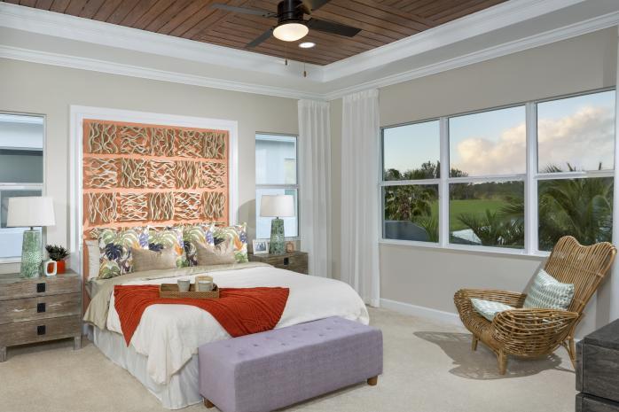 Azalea Model Large Master Bedroom Suite