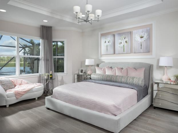 Persimmon Model Master Bedroom