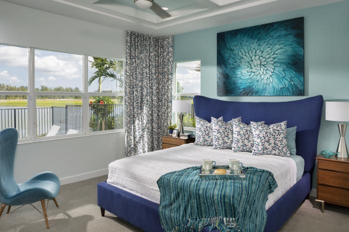 Sandhill Model Master Bedroom