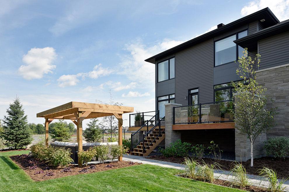2018 Minto Dream Home - Backyard